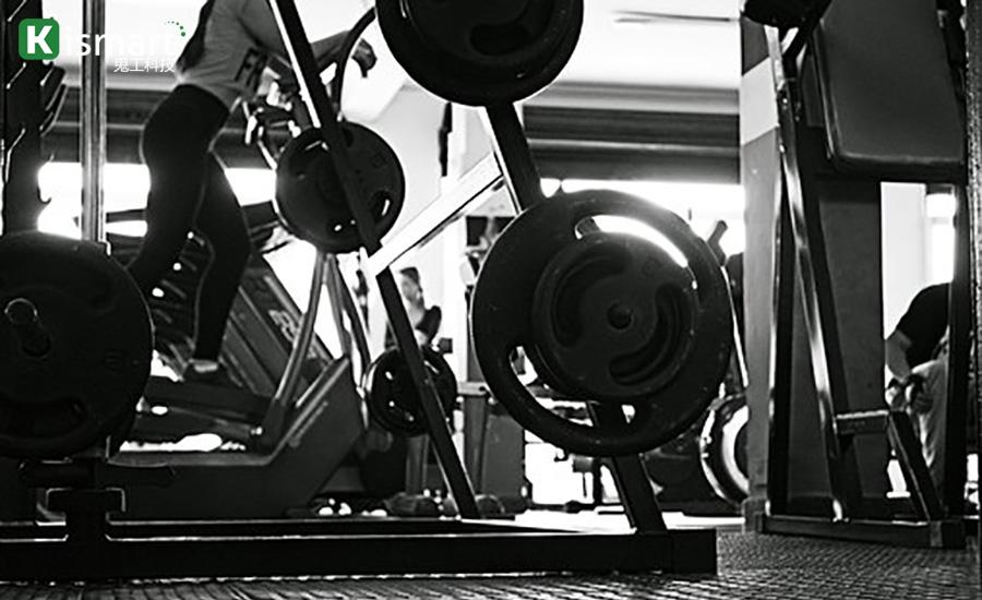 健身房场地的健身器械